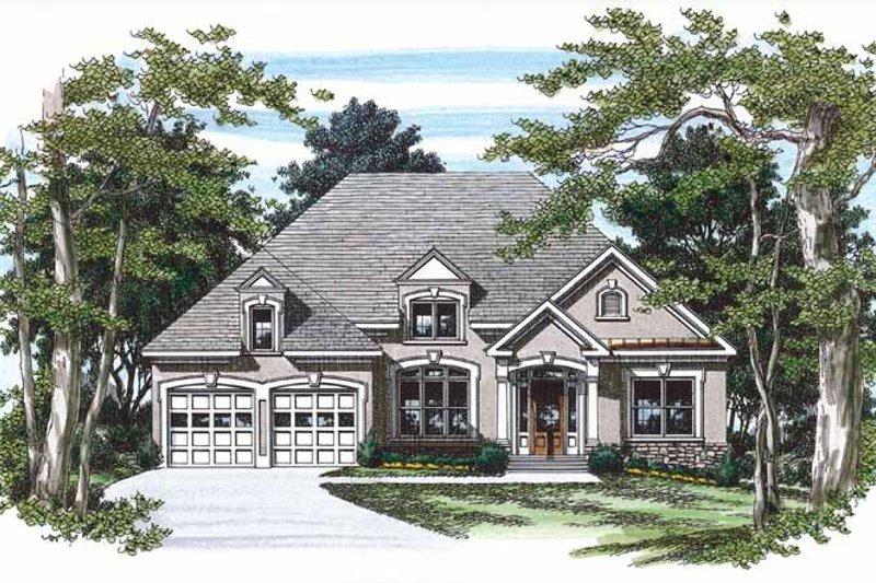 House Plan Design - Mediterranean Exterior - Front Elevation Plan #927-232