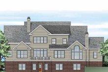 House Plan Design - Colonial Exterior - Rear Elevation Plan #927-327