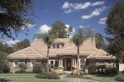 Traditional Style House Plan - 4 Beds 4 Baths 3098 Sq/Ft Plan #417-358 Photo
