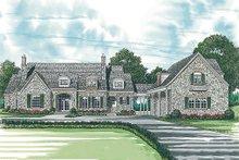 House Plan Design - European Exterior - Front Elevation Plan #453-47