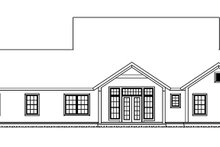 Traditional Exterior - Rear Elevation Plan #513-2158