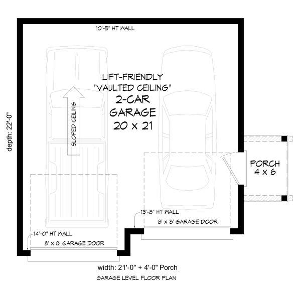 Home Plan - Contemporary Floor Plan - Main Floor Plan #932-82