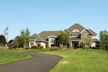 Architectural House Design - European Exterior - Front Elevation Plan #928-101