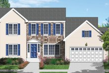 House Design - Traditional Exterior - Front Elevation Plan #1053-39