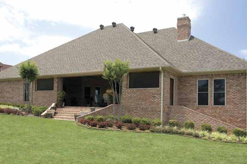 Traditional Exterior - Rear Elevation Plan #17-2775 - Houseplans.com