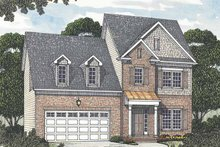 House Design - Colonial Exterior - Front Elevation Plan #453-506