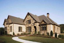 Dream House Plan - European Exterior - Front Elevation Plan #927-18