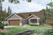 Craftsman Style House Plan - 2 Beds 2 Baths 1420 Sq/Ft Plan #48-189