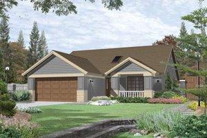 Craftsman Exterior - Front Elevation Plan #48-189
