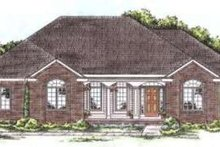 Architectural House Design - Traditional Exterior - Front Elevation Plan #20-1663