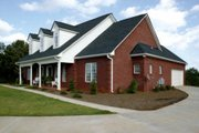 Southern Style House Plan - 4 Beds 3 Baths 1992 Sq/Ft Plan #56-152 Exterior - Other Elevation