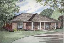Architectural House Design - Exterior - Front Elevation Plan #17-2141
