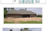 Traditional Style House Plan - 3 Beds 2.5 Baths 3267 Sq/Ft Plan #63-112 Exterior - Rear Elevation