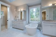 Cottage Style House Plan - 4 Beds 3.5 Baths 4420 Sq/Ft Plan #132-568 Interior - Master Bathroom