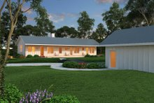 Dream House Plan - Ranch Exterior - Other Elevation Plan #888-4