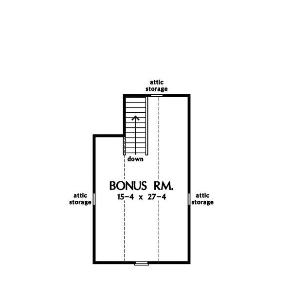 European Floor Plan - Other Floor Plan Plan #929-21