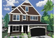 Traditional Exterior - Front Elevation Plan #509-349