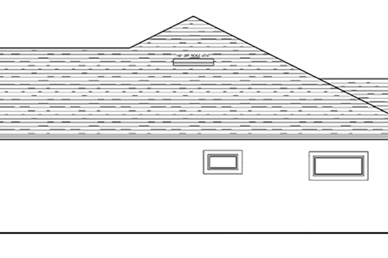 Traditional Exterior - Other Elevation Plan #1058-119 - Houseplans.com