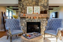 House Plan Design - Great Room Fireplace