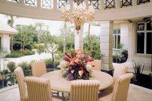 Architectural House Design - Mediterranean Interior - Dining Room Plan #930-101