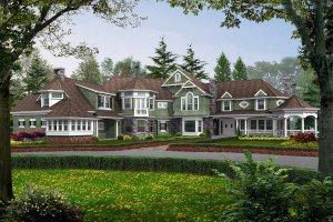Craftsman Exterior - Front Elevation Plan #132-182