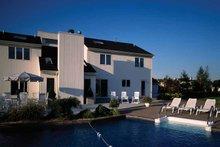 Dream House Plan - Contemporary Exterior - Rear Elevation Plan #314-228