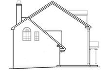 Classical Exterior - Other Elevation Plan #927-614