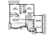 European Style House Plan - 3 Beds 2.5 Baths 2121 Sq/Ft Plan #138-336 Floor Plan - Upper Floor