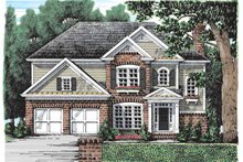 House Plan Design - Colonial Exterior - Front Elevation Plan #927-899