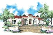 Mediterranean Style House Plan - 4 Beds 3.5 Baths 3166 Sq/Ft Plan #930-309