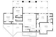 Craftsman Style House Plan - 4 Beds 4 Baths 4140 Sq/Ft Plan #437-116 Floor Plan - Lower Floor Plan