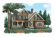 House Plan Design - European Exterior - Front Elevation Plan #927-518