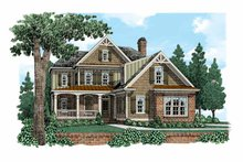 Home Plan - European Exterior - Front Elevation Plan #927-518