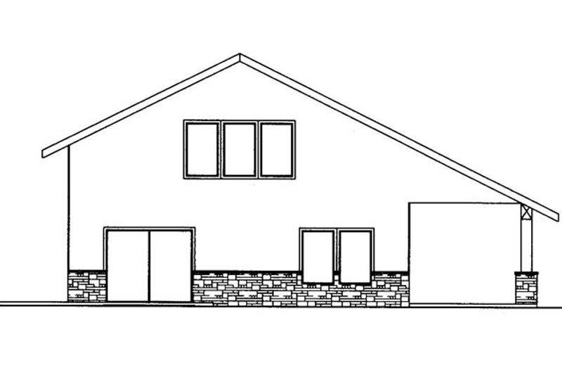 Contemporary Exterior - Other Elevation Plan #117-855 - Houseplans.com
