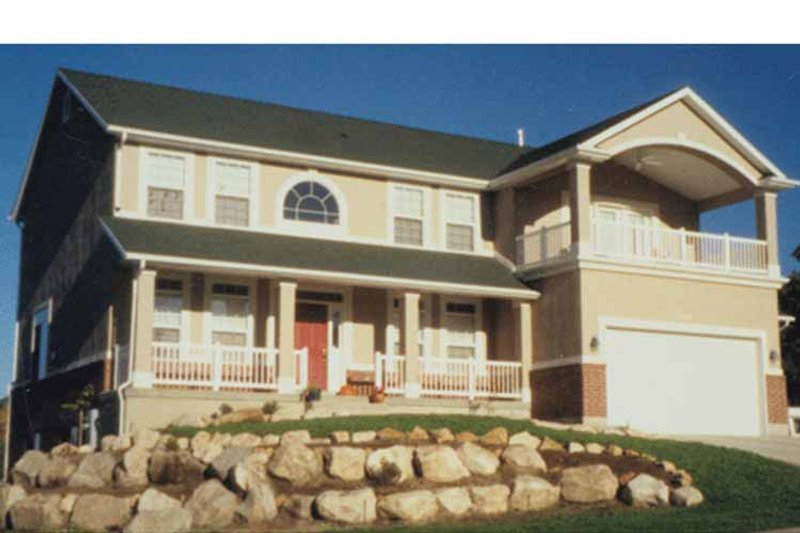 Country Exterior - Front Elevation Plan #945-38 - Houseplans.com