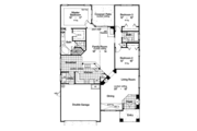 Craftsman Style House Plan - 3 Beds 2 Baths 1768 Sq/Ft Plan #417-826 Floor Plan - Main Floor Plan