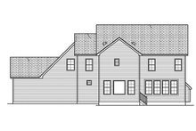 Home Plan - Traditional Exterior - Rear Elevation Plan #1010-132