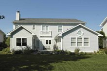 Architectural House Design - Traditional Exterior - Rear Elevation Plan #928-70