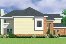 House Plan Design - Classical Exterior - Other Elevation Plan #72-1085