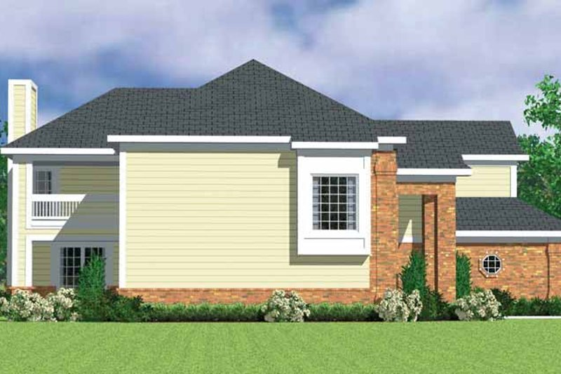 Classical Exterior - Other Elevation Plan #72-1085 - Houseplans.com