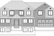 Traditional Style House Plan - 7 Beds 4 Baths 4676 Sq/Ft Plan #1060-18 Exterior - Front Elevation