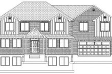 House Plan Design - Traditional Exterior - Front Elevation Plan #1060-18
