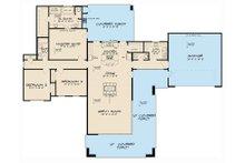 Contemporary Floor Plan - Main Floor Plan Plan #17-3385