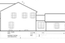 House Plan Design - Traditional Exterior - Other Elevation Plan #1053-53