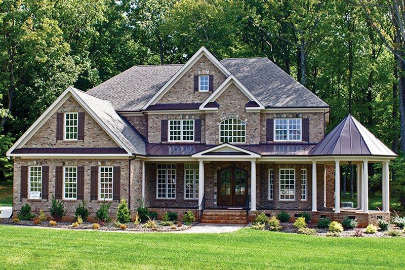 Colonial Exterior - Front Elevation Plan #927-393 - Houseplans.com
