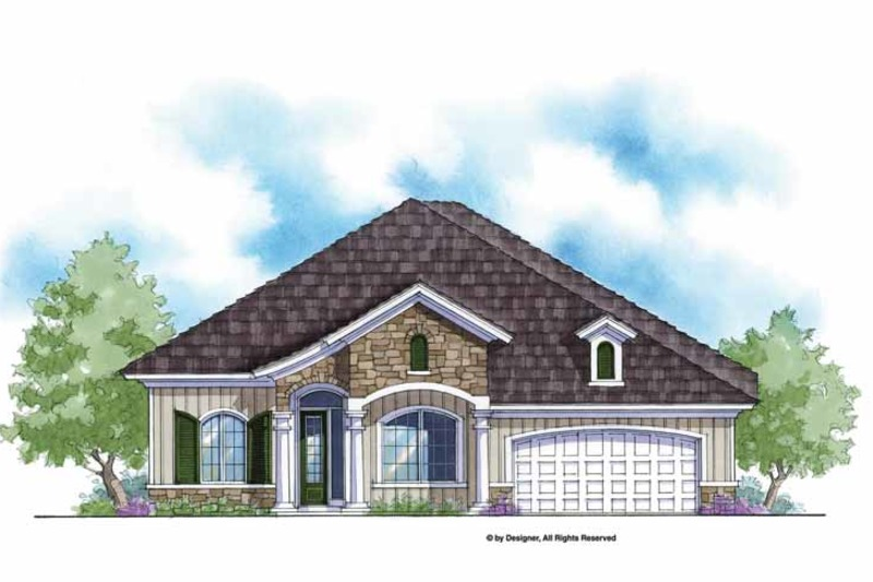 Country Exterior - Front Elevation Plan #938-57 - Houseplans.com