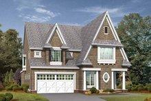 Dream House Plan - Craftsman Exterior - Front Elevation Plan #132-253