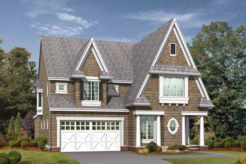 Craftsman Exterior - Front Elevation Plan #132-253 - Houseplans.com