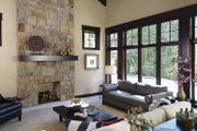 Country Style House Plan - 4 Beds 3 Baths 4970 Sq/Ft Plan #928-24 Interior - Family Room