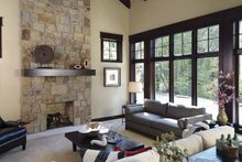 Country Interior - Family Room Plan #928-24